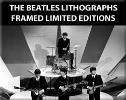 The Beatles Framed Lithographs